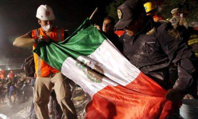 Fotografías de solidaridad en México después del sismo