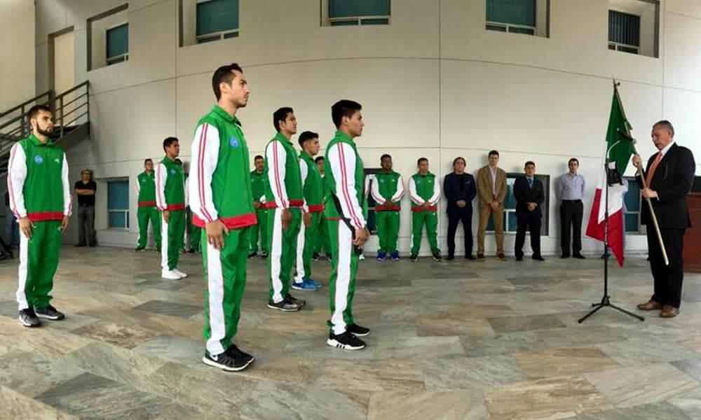 Abanderamiento de la selección mexicana de kickboxing