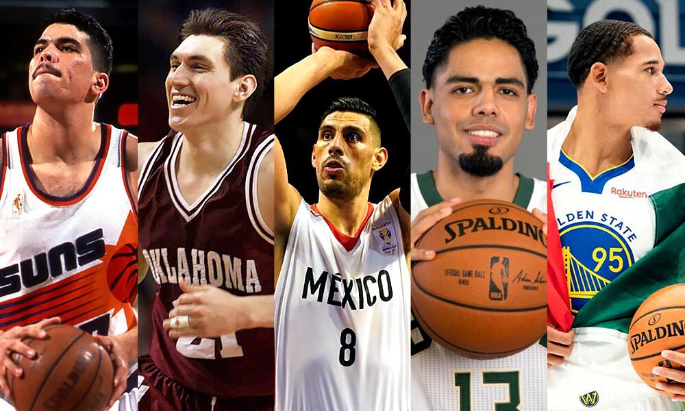 Ellos Son Los Jugadores Mexicanos que Han Jugado Para la NBA