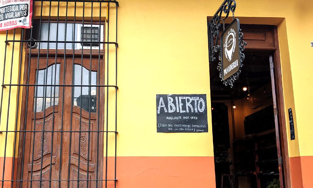 Panadería Punto de Salvado, en Xalapa, Vercruz
