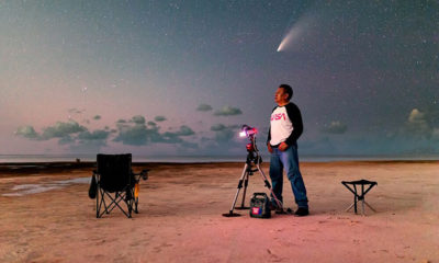 Robert Fedez: El Fotógrafo Mexicano que Capturó al Cometa Neowise en Cancún
